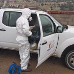 Nuevo proceso de desinfección en edificios municipales